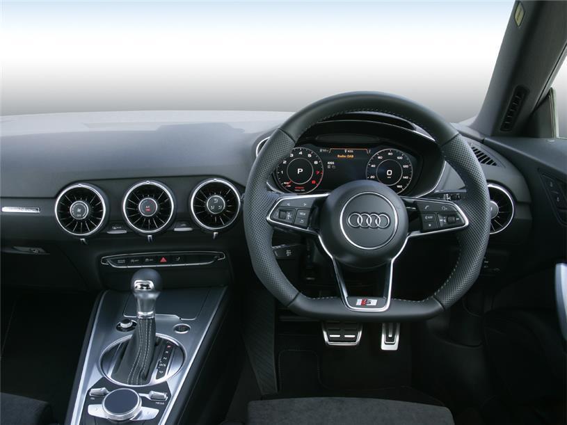Audi Tt Coupe 45 TFSI Quattro Black Edition 2dr S Tronic [Tech]
