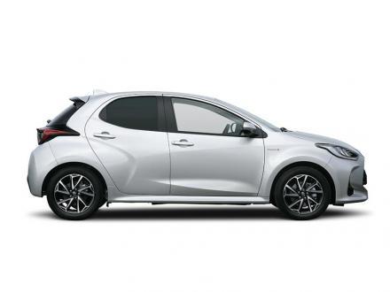 Toyota Yaris Hatchback 1.5 Hybrid Dynamic 5dr CVT [Bi-tone]