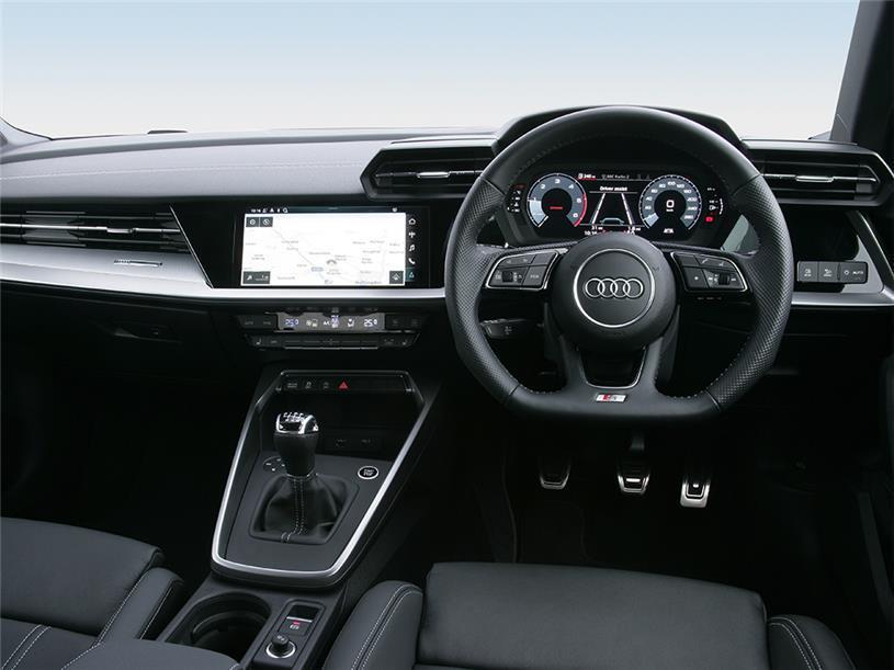 Audi A3 Sportback S3 TFSI Quattro 5dr S Tronic [Comfort+Sound]