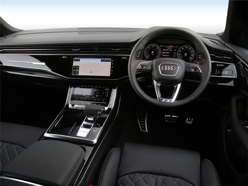 Audi Q8 Estate 55 TFSI Quattro Black Edition 5dr Tiptronic