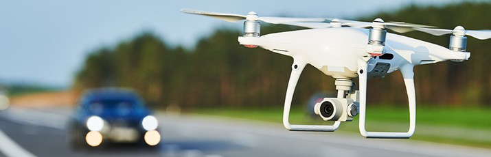 Drones to be used to find potholes